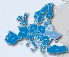 Europe Map 2018.1 for Garmin GPS devices on microSD