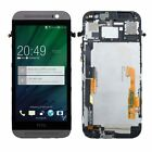 For HTC ONE M8 Grey LCD display Touch Screen Digitizer & Frame Assembly US