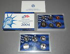 USA 11 Coins 50 State Quarters Proof Set Blue Box US Mint 2004 FREE SHIPPING