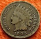 1903 UNITED STATES INDIAN HEAD PENNY 1C USA 1 CENT