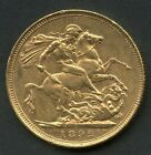 GREAT BRITAIN 1892 GOLD SOVEREIGN CONTAINS .2354 OUNCES OF PURE GOLD YOU GRADE