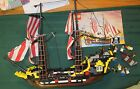 LEGO 10040 Black Seas Barracuda pirate ship 99% complete