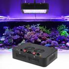 165W 55 LEDs Aquarium Light Dimmable Full Spectrum for Reef Fish Coral Tank N4A5