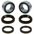 Both Front Wheel Bearing Seal Kits for Honda Rancher 350 4x4 & Rancher 400 4x4