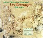 MICHEL PIGNOLET DE MONT'CLAIR: LES RAMAGES - FLUTE MUSIC USED - VERY GOOD CD
