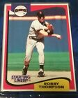 1994 Robby Thompson San Francisco Giants  Unopened Starting Lineup Baseball Card