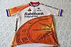 Vintage Rabobank Team cycling jersey Agu Colnago Professional Team size 6