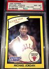 1990 KENNER MICHAEL JORDAN STARTING LINEUP YELLOW RARE PSA 8!