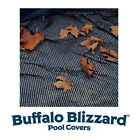 Buffalo Blizzard 16 x 32 Oval Above Ground Swimming Pool Leaf Net Winter Cover