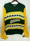 NWT Forever Collectibles MLB Men's Oakland A's Athletics Large Ugly Sweater