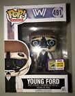 SDCC 2017 EXCLUSIVE FUNKO POP! WESTWORLD YOUNG FORD LE #491 TRUE STICKER