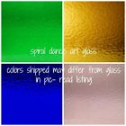 WISSMACH ENGLISH MUFFLE Stained Glass Sheets Set/4 Assorted Colors 8x10 Sheets