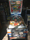 REALLY NICE WORKING 1966 GOTTLIEB HURDY GURDY WEDGEHEAD PINBALL MACHINE! LOOK!