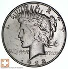 1923-S Peace Silver Dollar - San Francisco Minted - 90% Silver *553