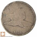 1858 Flying Eagle Cent - Very Tough - Issued for only 3 Years *219