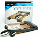 X ACTO Heavy Duty Guillotine Trimmer Paper Cutter 15 New Open Box