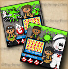 GHOSTBUSTERS 2 premade scrapbook pages for album layout paper piecing DIGISCRAP