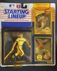 Starting Lineup 1990 Edition Will Clark Figure and Card