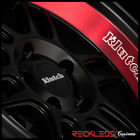 18 KLUTCH ML1 WHEELS BLACK w RED DEEP LIP RIMS Fits ACURA RSX TSX
