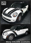 Mini Cooper Clubman Hood Side Rocker Stripes Decals 2008 2009 2010 2011