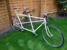 Custom built Fully Restored Vintage tandem Bike Bicycle Stronglight Fulcrum