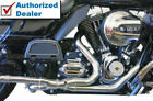Bassani 2x2 Dual Headpipes Header Pipes Exhaust Harley 2009 2016 Touring Bagger