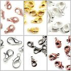 Gold Silver Gunmetal Copper Pewter Lobster Jewelry Clasp Finding pick size color
