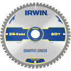 Irwin ATB Ultra Construction Circular Saw Blade 254mm 60T 30mm