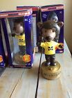 Vintage 2002 Michigan Wolverines Bear U of M Bobbleheads Collection Harbaugh