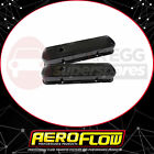 Aeroflow Black Steel Valve Covers Suit Holden 253-308 Without Logo