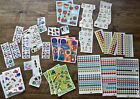 Lot of Vintage Stickers Sandy Lion mods Snoopy Prism Cat Mouse Computer more