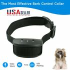 US Anti Bark No Barking Training Collar Alarm Shock Control For Small Medium Dog