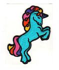 RARE Beautiful Large Puffy Embroidered Unicorn Sticker Not Original Sandylion