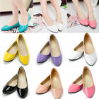 Women Lady Casual Loafers Slip on Ballerina Ballet Pumps Summer Flats Boat Shoes