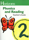 Horizons Phonics and Reading Grade 2 complete set minus workbook 1