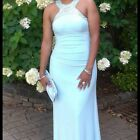 Xscape Mint Green Prom formal wedding party gown long Dress size 6