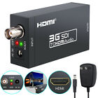 1080P HD Converter Adapter 3G SDI To HDMI Video Audio Coaxial Cables For HDTV PC