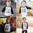 Birthday Infant Kids Baby Boys Clothes Tee T shirt Tops Blouse Outfits Clothes