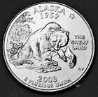 2008 P MINT Alaska State Quarter - Uncirculated Clad from Wrapped Rolls.