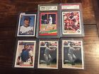 1991 Upper Deck Final Edition Ivan Rodriguez Rookie RC PSA 8 NM-MT + 5 Cards