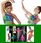 Allegria Dance Costume HALTER CROP TOP 2 ONLY Clearance CSAXLAXXL