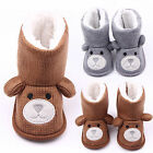 Newborn Baby Boy Girl Warm Snow Boots Toddler Infant Soft Sole Booties Prewalker