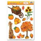Fall Window Clings Fall Autumn Thanksgiving Party Decorations