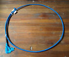 hot blue Boys Girls youth junior Goat Tying String Rope calf 3 Ply Soft rodeo 4h