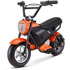Mongoose 24V Mini Bike Orange Up To 12 MPH 250 Watt Motor 8 to 11 Years