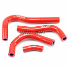 For Honda CBR 250RR 2017-2018 Silicone Radiator Hose Kit Water Pipe,Red,Blue