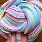 Fluffy Floam Slime Scented Stress Relief No Borax Kids Toy Sludge Toy Colorful