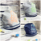 Boy's Kids Cotton Skating Beanie Hat Spring Autumn Cap BUS Design 46-48cm