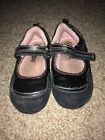 Circo Toddler Girl Mary Jane Black shoes size 8 Sequins Sneakers