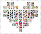 200+ Styles 3D Puffy Stickers Set of 3 Sheets US Seller